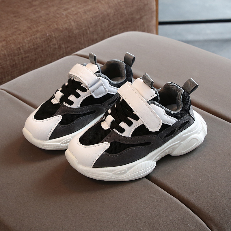 2020 Cool school boys girls sneakers Soft breathable little baby toddler leisure children shoes casual running kids shoes