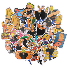 Stickers for Notebook Phone-Case R1023 Ransitute DIY Creative Cartoon-Style Strong Man