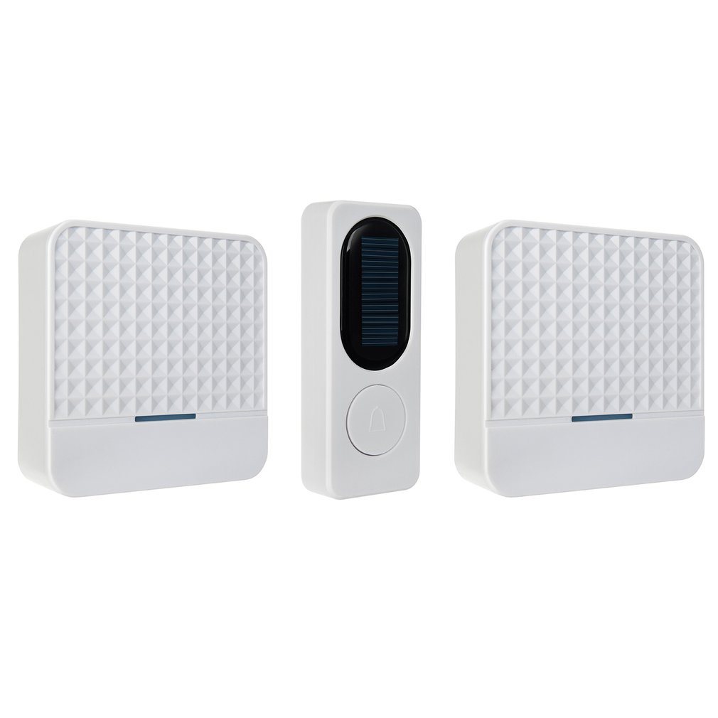 For F9 Solar Wireless Doorbell Intelligent Light Sensor One For One Door Bell One For Two Wireless Doorbell