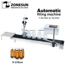 Liquid-Filler Electrical-Conveyor-Belt Heat-Resistance-Filling-Machine ZONESUN Single-Head