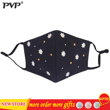 PVP 1Pcs Fashion Petal Face Mouth Mask Anti Dust Mask Filter Windproof Mouth-muffle Bacteria Proof Flu Face Masks Care Reusable zlrowr shark mouth anti fog flu face masks unisex surgical respirator mouth muffle mask