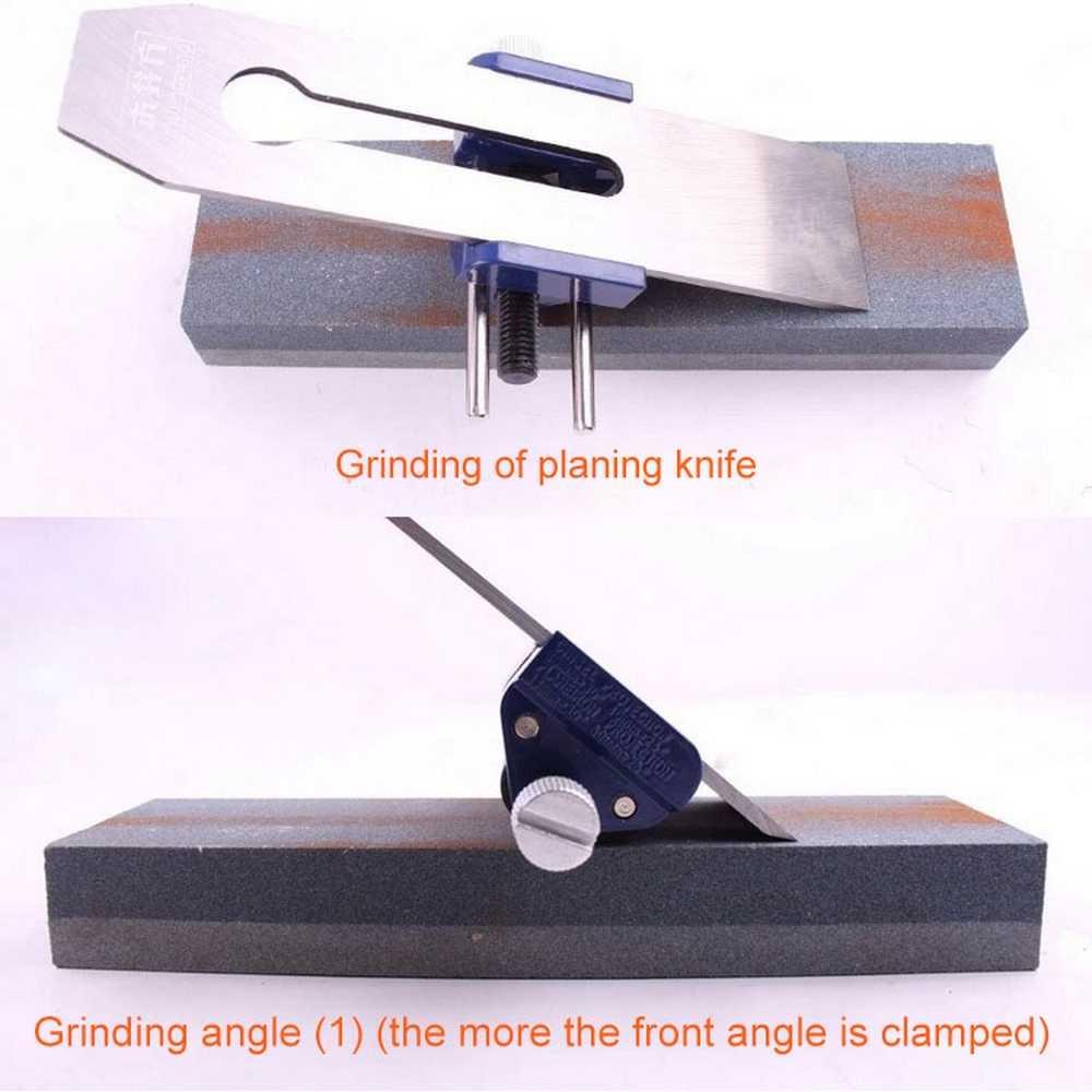 Guide de rodage pour affûtage support réglable bois manuel aiguiseur rapide positionneur ciseau à bois rabot lame