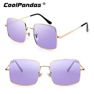 Image 4 - 2019 แฟชั่นสีม่วงสีฟ้าPhotochromicแว่นตากันแดดผู้หญิงUV400 สุภาพสตรีแว่นตาSunแว่นตาขับรถแว่นตาZonnebril Dames