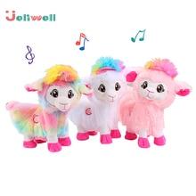 Плюшевые электрические детские музыкальные Забавные игрушки домашние животные живой Боппи попой шакин лама, альпаки, которые трясут головой и закручивают ягодицы