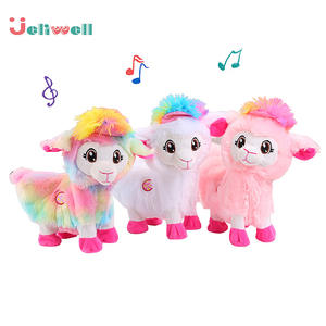 Funny-Toys Alpacas Shake-Their-Heads Llama Twist-Buttocks Pets-Alive-Boppi Music Booty