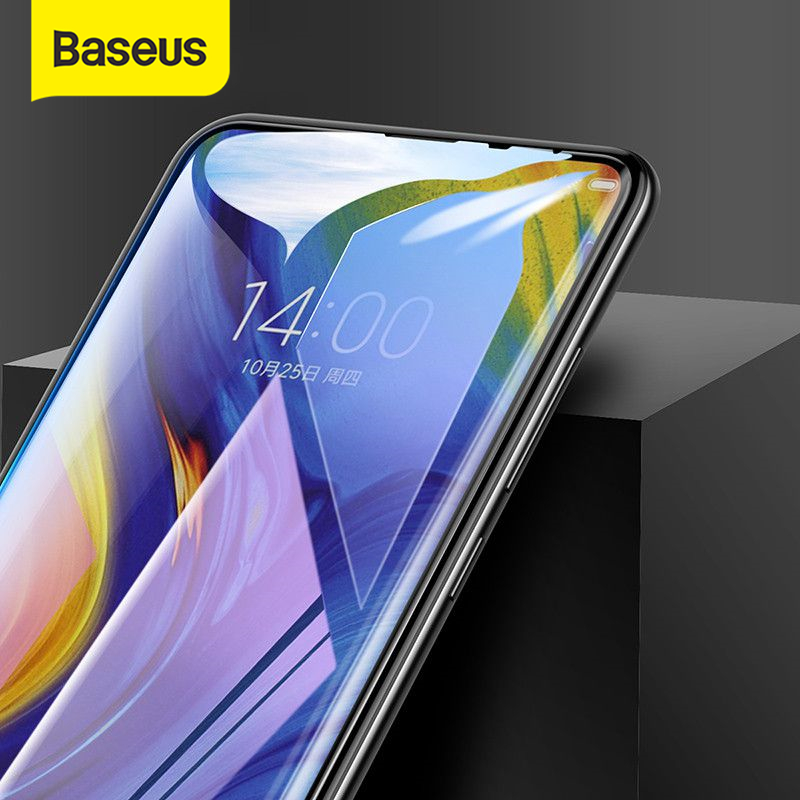 Baseus 0.3mm Thin Protective Glass For Xiaomi Mix 3 Screen Protector 9H Scratch Proof Anti Blue Tempered Glass For Xiaomi Mix3|Phone Screen Protectors| |  - title=