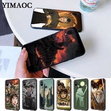 the lord of rings Pattern Silicone Case for Redmi Note 4X 5 Pro 6 5A Prime 7 8