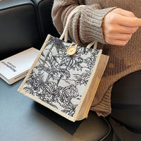 2021 Canvas Handbags For Women Fashion Tote Beach Bags Reusable Shopping Bags Casual Large Capacity Designer Shoulder Pouch Bags