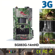 3G wireless hunting cameras Bolyguard SG883G-14mHD MMS/GPRS 14MP 940nm invisible IR trail cameras photo traps christoffer andersson gprs and 3g wireless applications professional developer s guide isbn 9780471189756