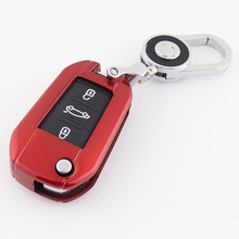 цена на Key case for car For Peugeot 3008 5008 408 2008 308 508 for Citroen C4 C5 C6 C4L CACTUS DS4 DS5L paint key protector cover new