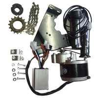 24V 250W Motor Controller Electric Bike Conversion Kit Flywheel Handle Motor Bracket Chain for 20-28 Inch E-bike Bicycle Kit