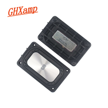 GHXAMP 121*74MM Silver Bass Woofer Passive radiator Vibration plate Portabe Bluetooth speakers Accessories DIY 2PCS