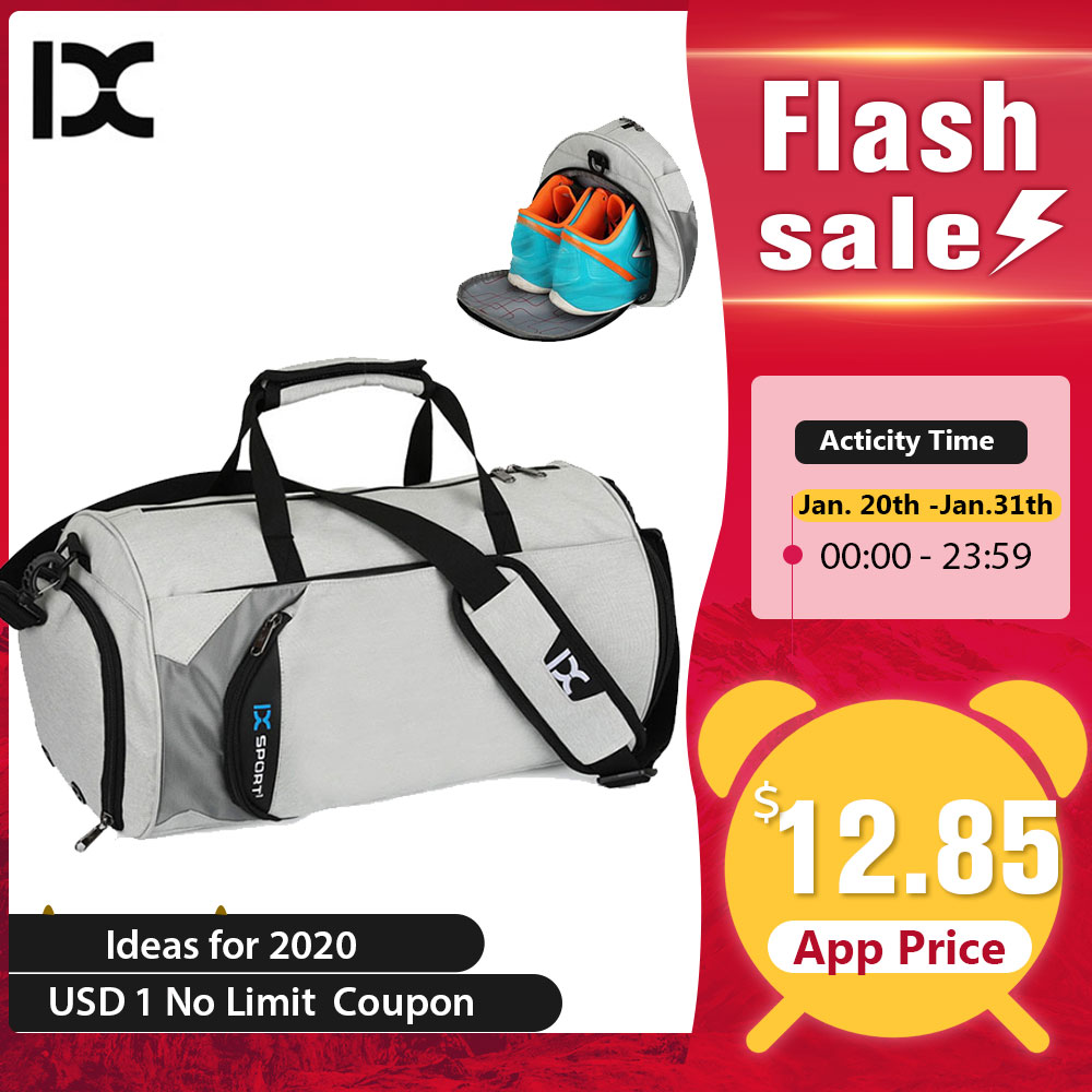 Men Gym Bags For Training Bag Tas Fitness Travel Sac De Sport Outdoor Sports Swim Women Dry Wet Gymtas Yoga Women 2020 XA103WA
