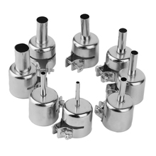 8pcs/Set 3/4/5/6/7/8/10/12mm Heat Gun Nozzles Kits For Hot Air Soldering Station Repair Tools