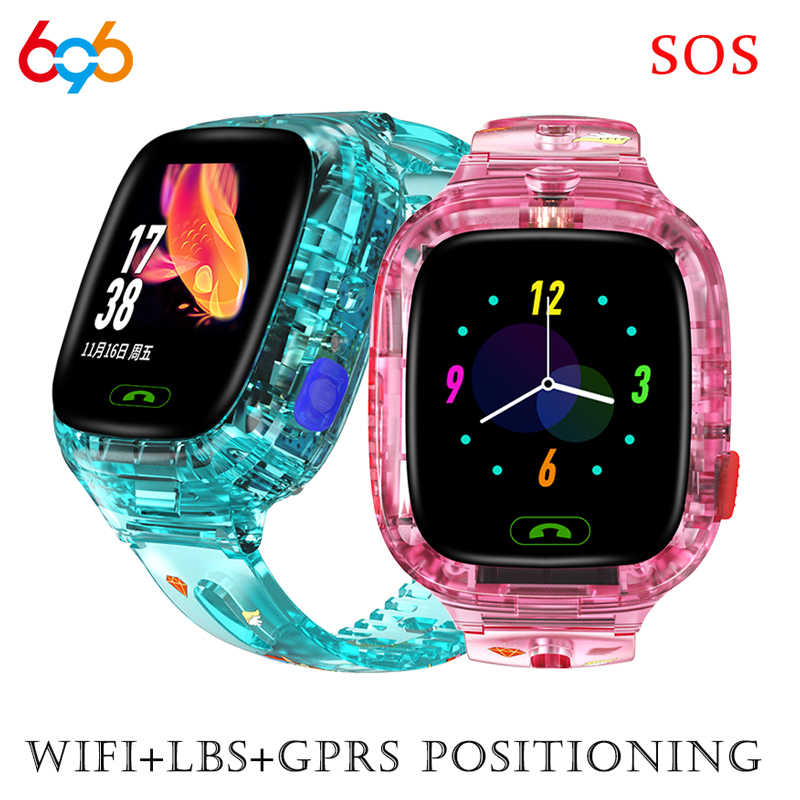 Y91 Smart watch LBS Kid Smartwatch Baby Watch for Children SOS Call WIFI Location Finder Locator Tracker Anti Lost Monitor Gift
