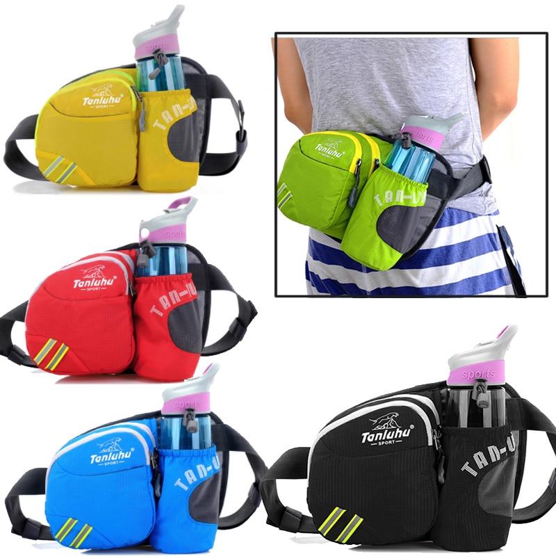 Sports Running Jogging Cycling Water Bottle Holder Waist Pack Fanny Bag Belt Gym