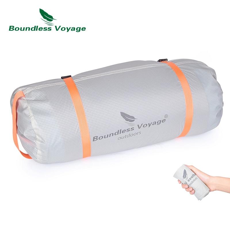 Boundless Voyage Sleeping Bag Compression Sacks Lightweight Stuff Sack Waterproof Storage Bag Camping Travel Outdoor Nylon Bag title=