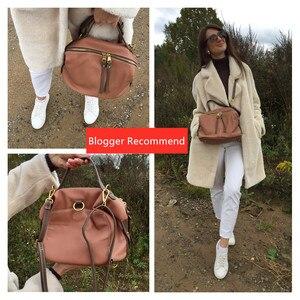 Image 5 - Vento Marea Crossbody Bags For Women Handbags Luxury Designer 2019 Brand Female Shoulder Bag In Soft Leather Retro Hobo Purses