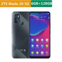 "Original ZTE Blade 20 5G Mobile Phone Dimensity 720 Android 10.0 6.52"" 1600x720 6GB RAM 128GB ROM 16.0MP Fingerprint Face ID 1"