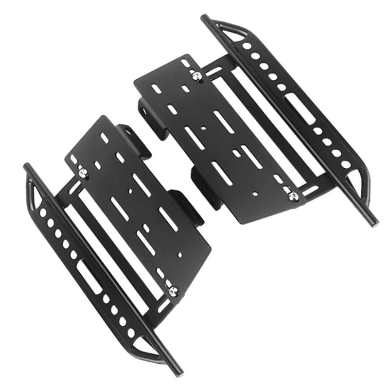Image 4 - 1pair Metal Side Pedal and Receiver Box For 1/10 Jeep Cherokee Wrangler Axial Scx10 90046 90047 90048 95AEParts & Accessories   -