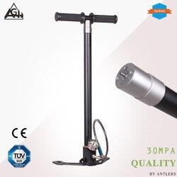 30Mpa 4500psi Air PCP Paintball Pumpe Air Gewehr hand pumpe 4 Stufen hochdruck mit filter Mini Kompressor bomba nicht hill