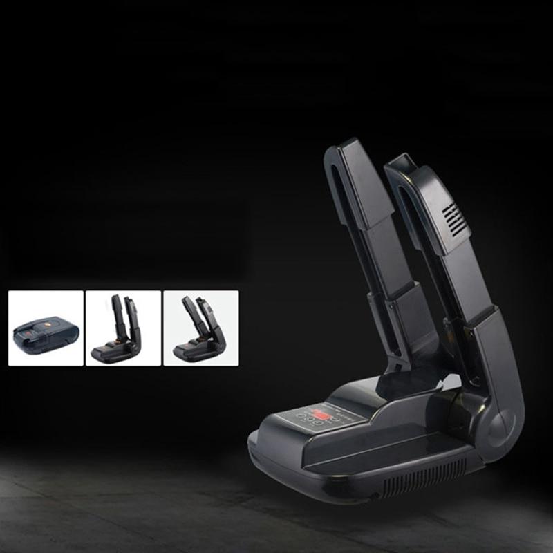 Ev ve Bahçe'ten Ayakkabı Rafları ve Organizatörleri'de Ayakkabı kurutucu zamanlama geri çekilebilir ayakkabı kurutma makinesi sterilizasyon ozon ayakkabı isıtıcı elektrikli ayakkabı ev ev abd Plug title=