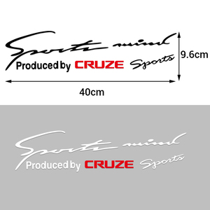 Новая 3D Мода 1 шт. автомобильная лампа для бровей наклейки для Chevrolet Cruze Captiva Trax Impala Lacetti SS Z71 Spark Aveo Malibu Sail
