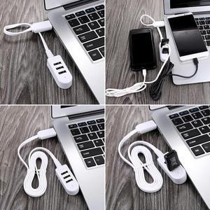 3 ports USB HUB haute vitesse Multi HUB séparateur adaptateur d'extension ordinateur de bureau Portable pour ordinateur de bureau iMac ordinateur Portable