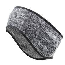 Зимняя Теплая повязка на голову унисекс из искусственного флиса