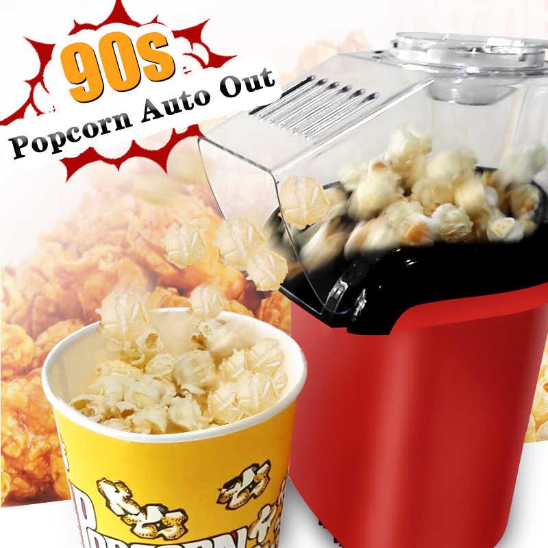 New Home Hot Air Popcorn Popper Makerเครื่องไมโครเวฟอร่อย & Healthy Gift Ideaสำหรับเด็กHome-Made DIY popcorn Movieขนมขบเคี้ยว