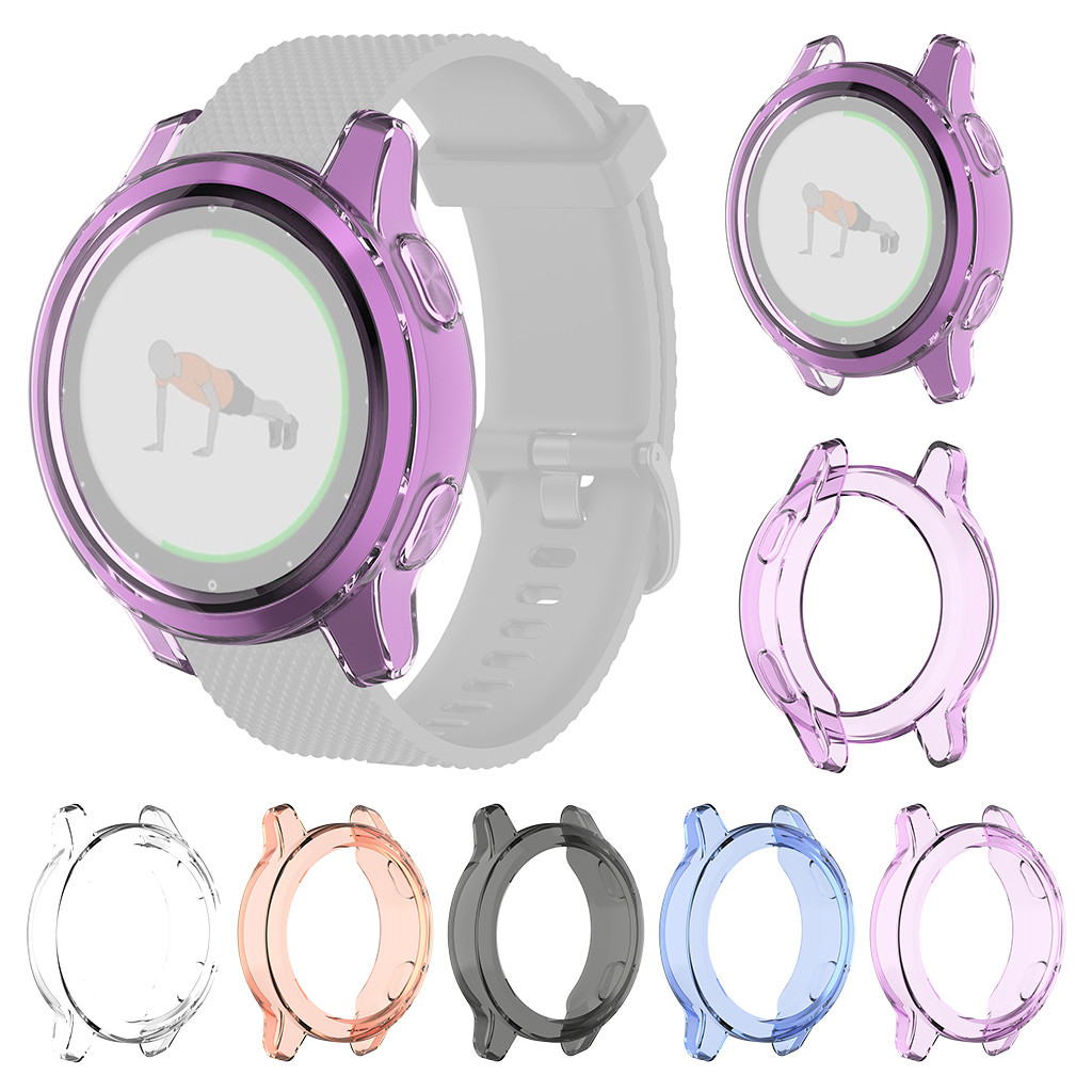 Screen Protector Soft Watch Case For Garmin Vivoactive 4S/4 Cover Tpu Shell Accessories For Garmin Vivoactive 4S Smart Watch
