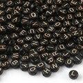 4x7 мм) бусины типа «жемчужины», перламутровый цвет: черный, розовый, с шортами золотистого цвета и надписью круглые акриловые бусины с плоски...