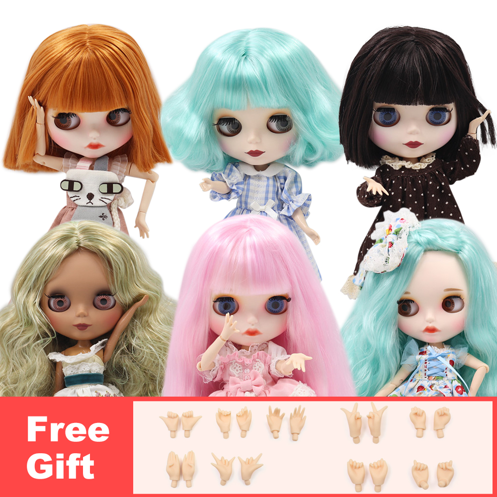 ICY Factory Blyth Doll 30CM 1/6 BJD Doll Fashion Cute Normal/joint Body Including Extra Hands , Girls Gift ICY Special Price