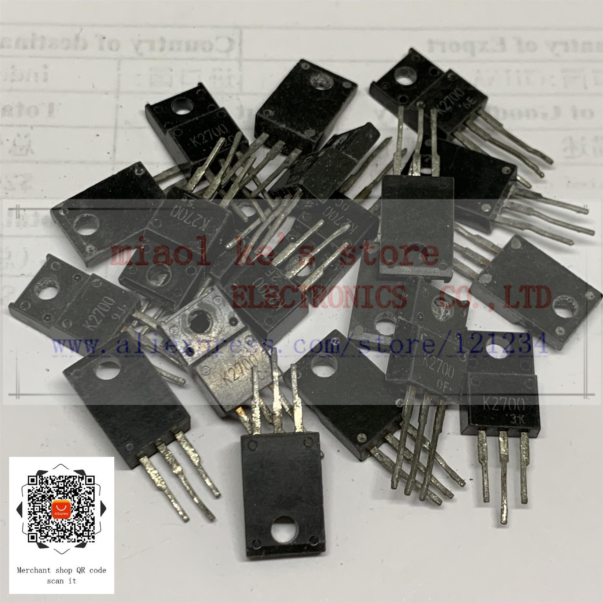 [10pcs]Used Goods; 2SK2700 2SK2717 2SK2718 2SK2723 2SK2724 2SK2733 2SK2736 2SK2737 2SK2738 K2700 K2717 K2718 K2723 K2724 K2733