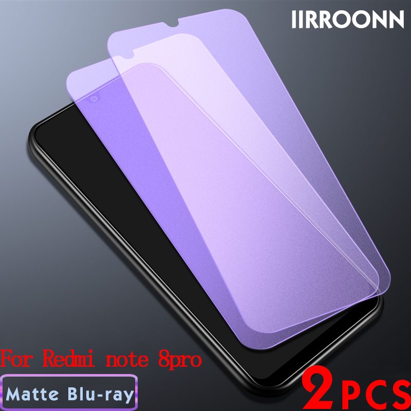 2Pcs/lot Matte Tempered Glass For Xiaomi Redmi Note 8 Pro NOTE 7 Screen Protector For Redmi NOTE8pro Note7 Note8 Protective Film