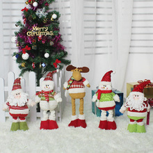 HOT 3 Styles Christmas Decorations Christmas Dolls Christmas Tree Decorations Innovative Elk Santa Snowman Decorations