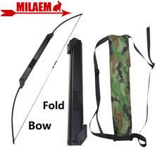 1pc 30-50lbs Archery Recurve Bow Straight Bow Portable Fold Bow Teens Shot Training Bow Outdoor Sport Hunting Accessories все цены
