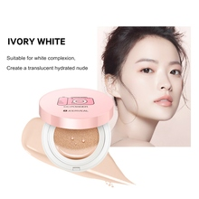 Nude Makeup Air Cushion Face Concealer Moisturizing Foundation Base Sunscreen BB CC Cream Whitening