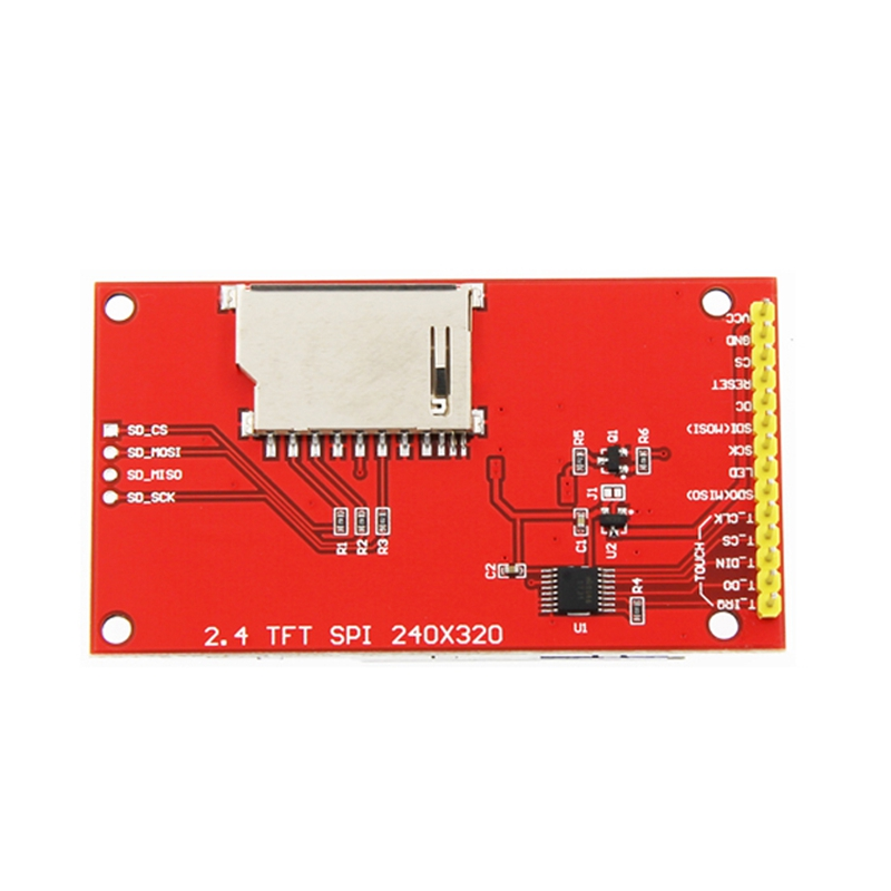 Hot 3C-2.4 Inch 320x240 SPI Serial TFT LCD Module Display Screen Without Press Panel Driver IC ILI9341 For MCU