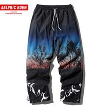Pant Man Aelfric Eden Joggers-Pants Men Trousers Oversized Streetwear Harajuku Hip-Hop
