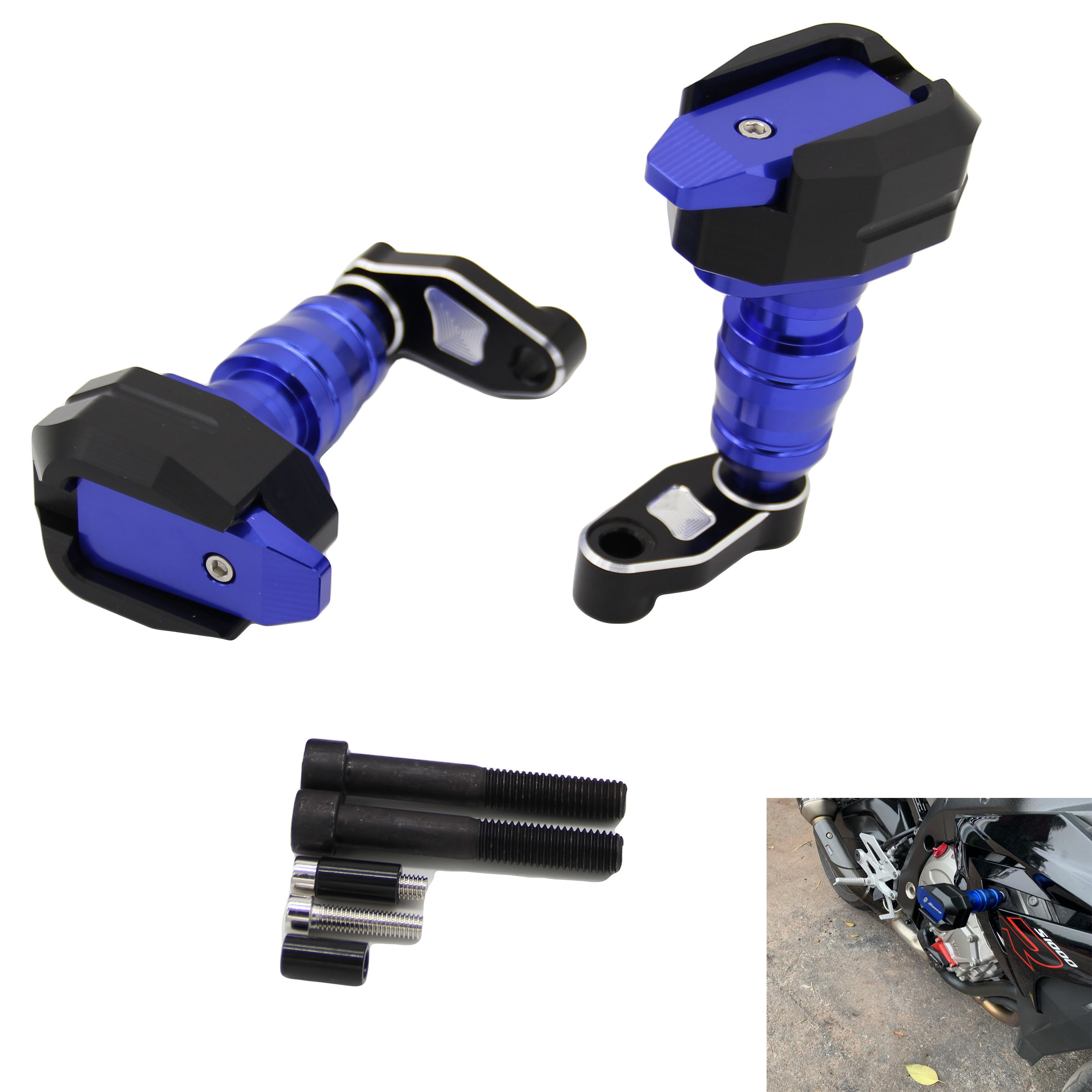 For BMW S1000RR <font><b>S1000XR</b></font> S 1000RR 2010 11 2012-2018 Motorcycle Falling Protection Frame Slider Fairing Guard Crash <font><b>Pad</b></font> Protector image