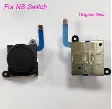 50 adet/grup orijinal yeni 3D Analog sopa Joycon denetleyici Joystick Thumb çubukları sensörü değiştirme NS anahtarı ve Lite
