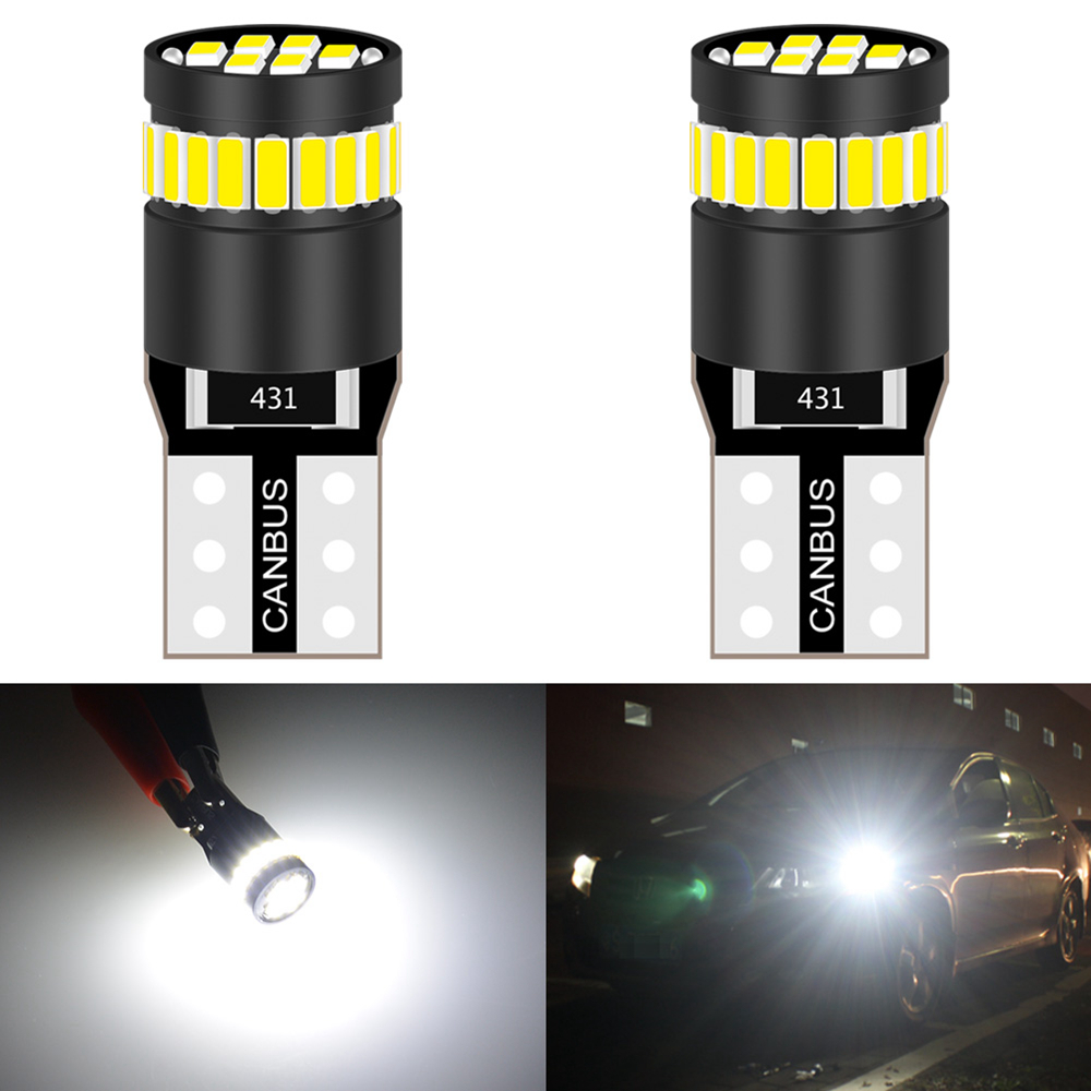2x W5W T10 Canbus Parking <font><b>LED</b></font> Lamps Interior Lights for <font><b>Audi</b></font> A3 <font><b>A4</b></font> A6 A5 8p B6 B8 B7 <font><b>B5</b></font> C6 S3 S4 RS3 TT Quattro Q5 Q7 100 300 image