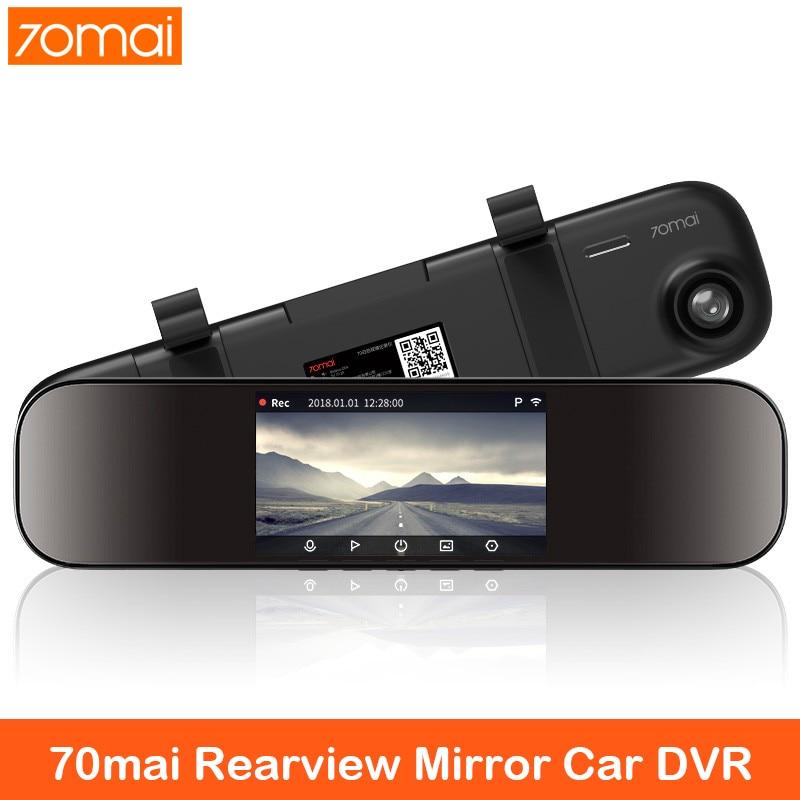 70mai Rückspiegel Auto DVR 1600P Dash Cam 70 mai 140FOV Nachtsicht Auto Rückspiegel Kamera 24H Parkplatz für auto