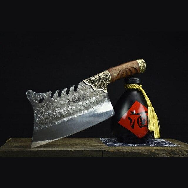 многофункциональный китайский поварской нож little cook ручной фотография