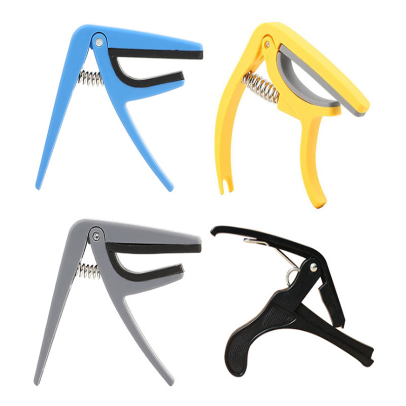 Professional Ukulele Capo 4 Strings Hawaii Guitar Capos Single-handed Quick Change Ukelele Capo Guitar Parts & Accessories
