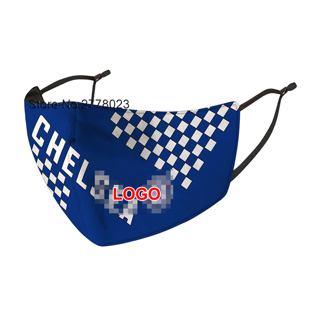 Chelsea football Club Mask High Grade Mask Reusable Face Filter Masks Anti Dust PM 2.5 Hygiene mouth Mask 1