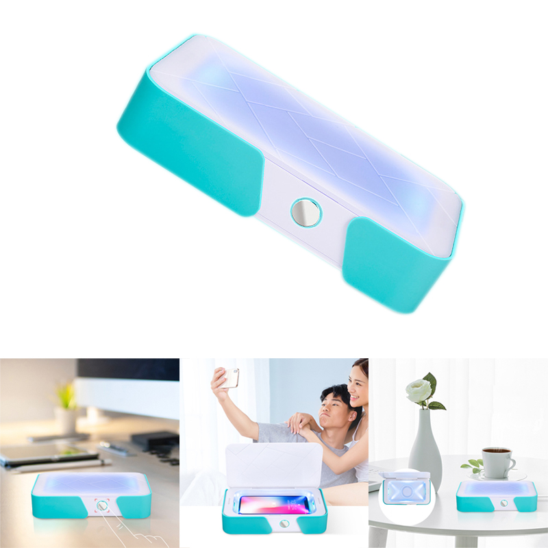 Smart Phone UV Cleaner Portable UV Light Cell Phone Sterilizer Cleaner Function Disinfector with USB Charging for iPhone Android