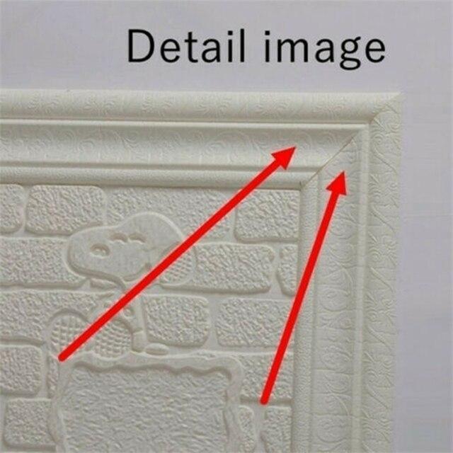 2.3m Waterproof Border Wall Sticker Top Corner Line Wall Edge Strip Wall Waist Line Sticker Tiles Wallpaper Border 3D Wall Decor