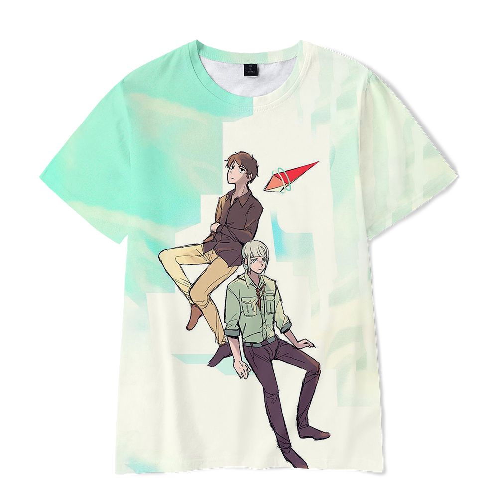 Tower Of <font><b>God</b></font> 3D Kpop Anime O-Neck T-<font><b>shirts</b></font> Women/Men Summer Short Sleeve Tshirts 2020 New Arrival Harajuku Streetshirt Clothes image